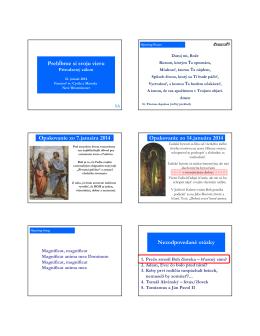 Tu si môžete pozrieť (stiahnut) pdf prezentacie 3.prednášky