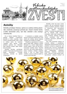 Zvesti_december_2013 (PDF) - Cirkevný zbor ECAV Lipt. Mikuláš