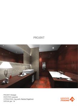 Kompletný projekt kúpeľne