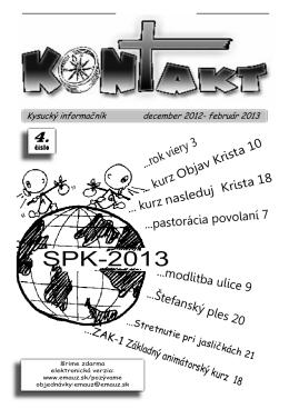 KONTAKT - Kysucký informáčník