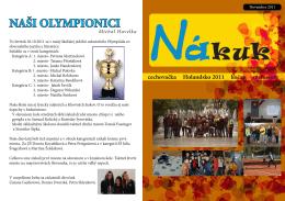November 2011 - Gymnázium, Kukučínova 4239/1, Poprad
