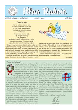 Obecné noviny 4 / 2011