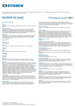 ALFAFIX S1 (sivá)