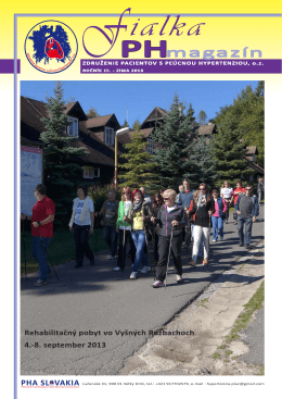 PH magazín Fialka (Zima 2013) – stiahnutie