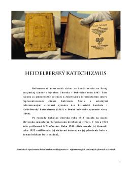 2. Heidelberský katechizmus