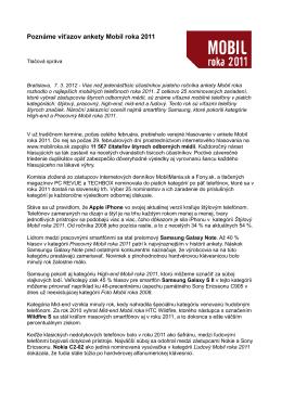 Tlačová správa (PDF)