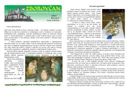 Zborovčan 4/2012
