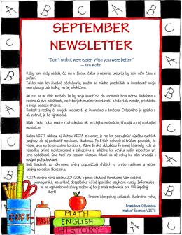 Stiahnite si náš newsletter