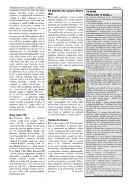 Abrahámske noviny, ročník 8, 2011, č