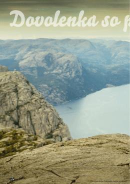 Dovolenka so psom v Nórsku