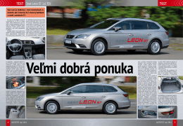 TeST Seat Leon ST 1,6 TDI TeST