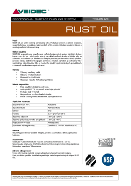 Rust Oil - ROL (500 ml)