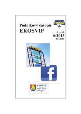 časopis 6/2013 - EKO SVIP, sro