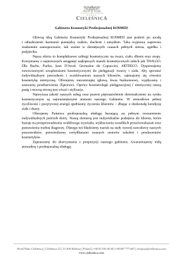 Wyłączny dystrybutor na Polskę: Vitamed Hurtownia