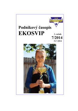 časopis 7/2014 - EKO SVIP, sro