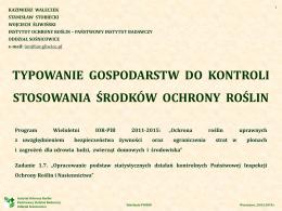 Protokół kontroli - Urząd Skarbowy w Końskich