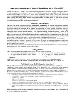 Numer sprawy DP-271–5/2015 dotyczy postępowania
