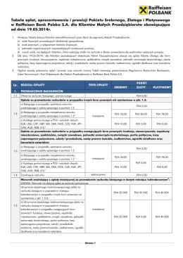 Rachunek oszczędnościowy - Bank Spółdzielczy w Reszlu