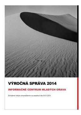 Výročná správa 2014