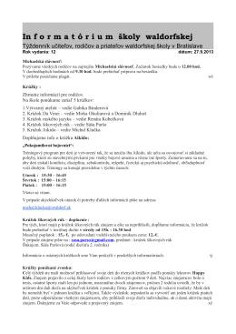 Informatórium 27.9.2013