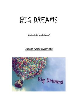 BIG Dreams podnik.plan - Stredná odborná škola technická