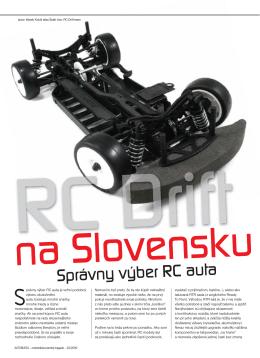 Článok č.3 - RC Drift Team Bratislava