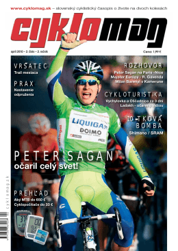PETER SAGAN - DEMA Senica, as