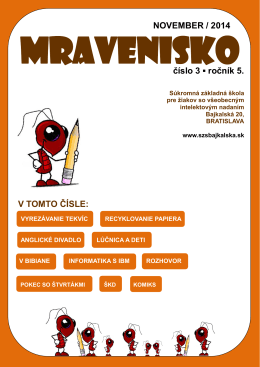 Mravenisko 14/15/03