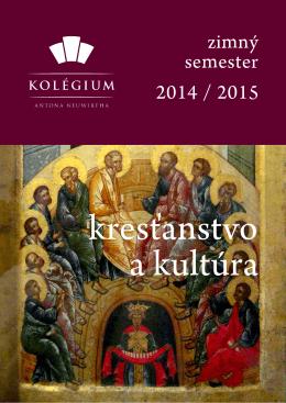 zimný semester 2014 / 2015