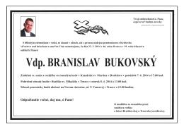 Parte - Bukovský B
