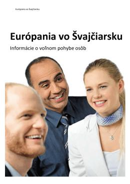 Európania vo Švajčiarsku