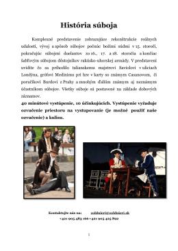 Ponuka vystúpení_Žoldnieri