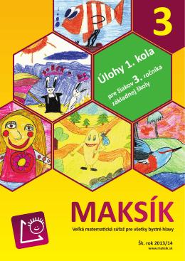 MAKSÍK 3 - 1. kolo.indd
