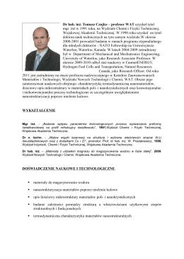 Karta katalogowa TOPSW, Edycja 2011
