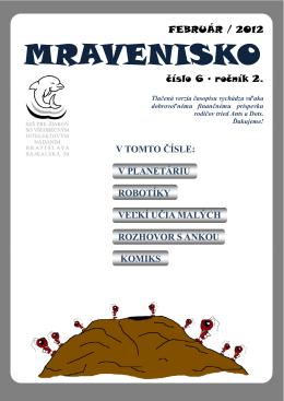 Mravenisko 11/12/6 (pdf)