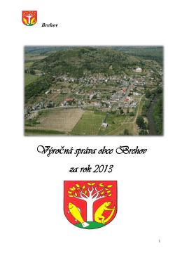 Výročná správa obce Brehov za rok 2013