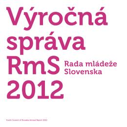 2012 - Rada mládeže Slovenska