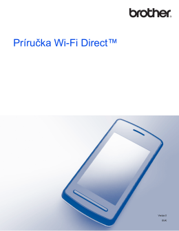 Príručka Wi-Fi Direct™