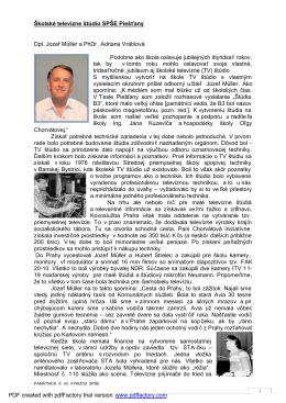 Školská televízia Astra (148kB, pdf)