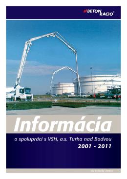 o spolupráci s VSH, as Turna nad Bodvou 2001