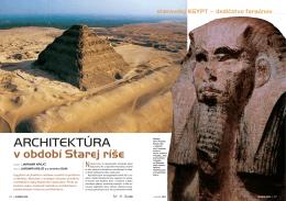 Architektúra v období Starej ríše