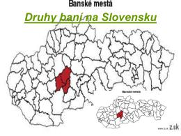 Druhy baní na Slovensku