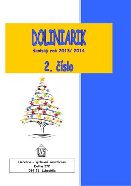 2.číslo Doliniarik 13-14 - Liečebno