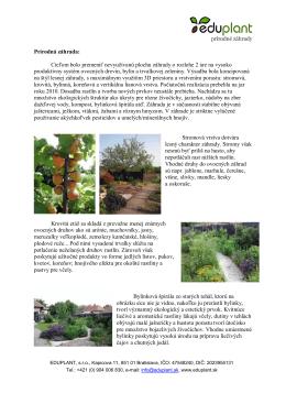 Prírodná záhrada: Cieľom bolo premeniť nevyužívanú