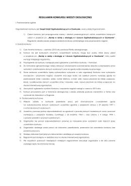 Rozdział 1 Przepisy ogólne Art. 1. Ustawa określa zasady