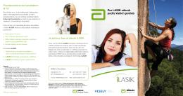 Brožúrka iLASIK 1 - VESELÝ Očná Klinika
