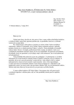 referenčný list - Info Consult s.r.o