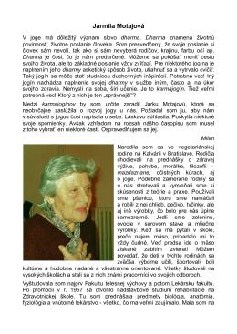 Jarmila Motajová