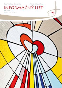 Informačný list -7/2012 - Centrum pre rodinu NITRA
