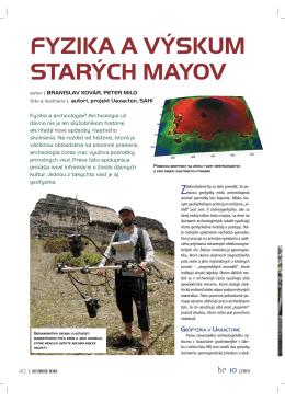 Fyzika a výskum starých Mayov
